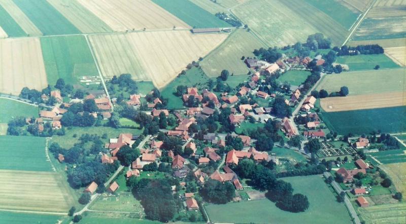Luftbild Büren aus dem Jahr 2002