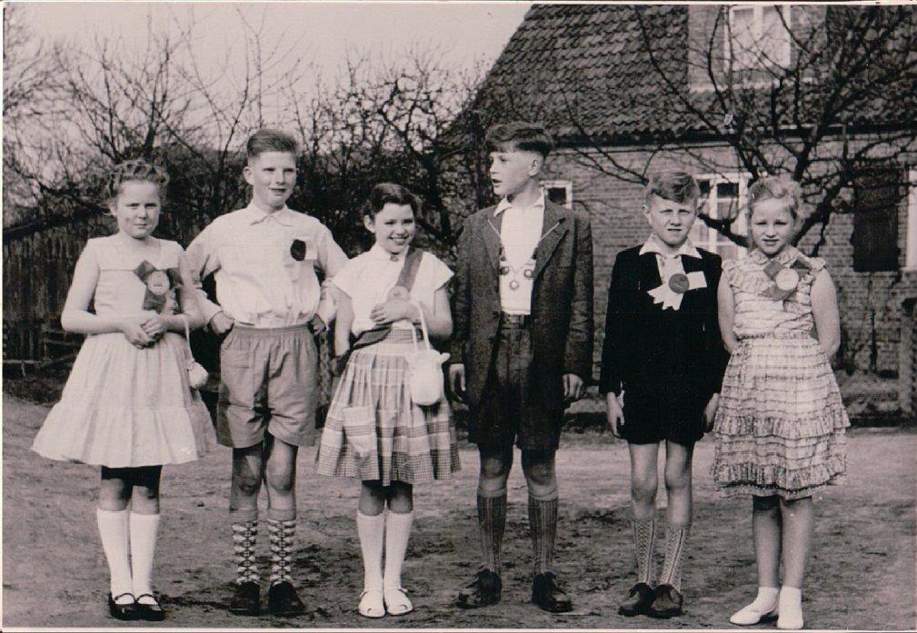 Kinderschützenkönig  Büren 1958  PD_0002